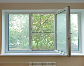 Установка окна с откосами без F угла